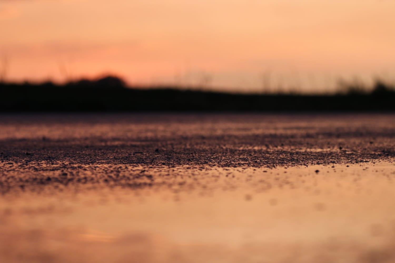Regen-und-Sonnenuntergang
